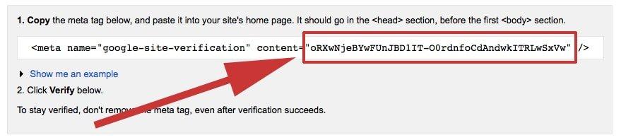 Verification Tag