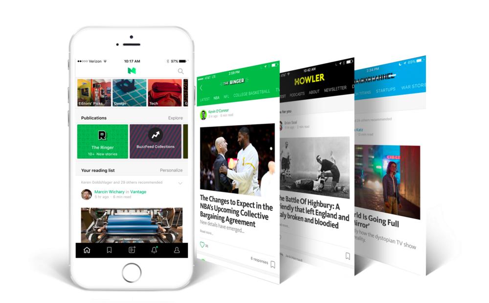 Medium's App Update