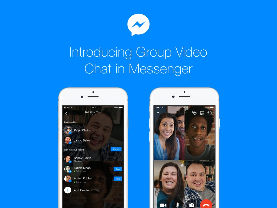 Facebook Group Video Chat