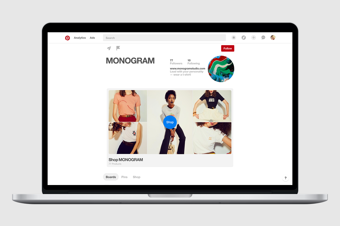 Pinterest's New Showcase
