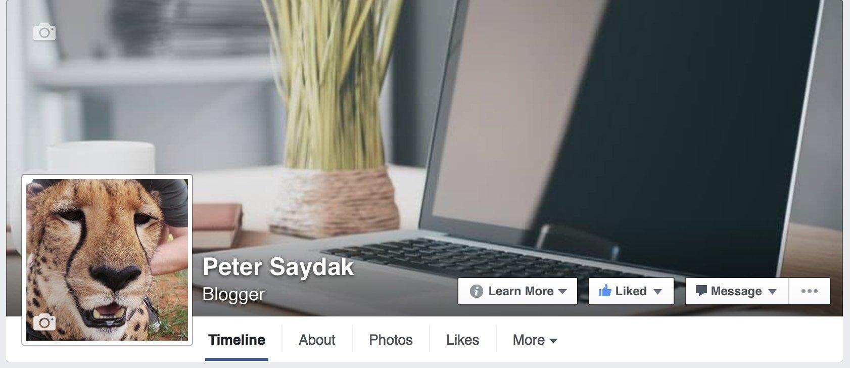 Peter Saydak's Facebook Page