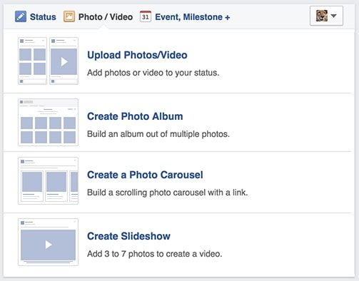 Upload a Photo or Video