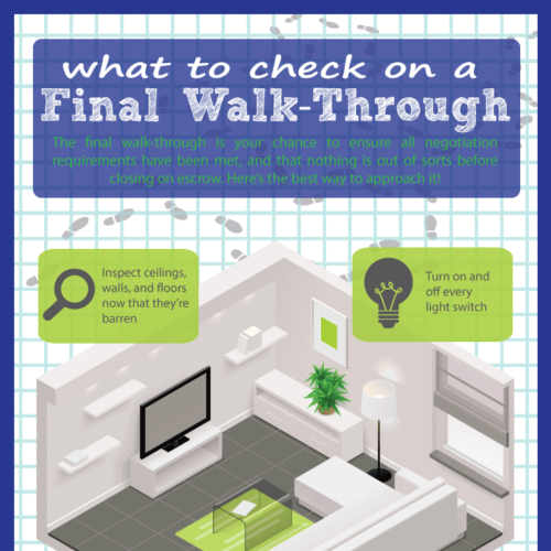 What to Check on a Final Walkthrough