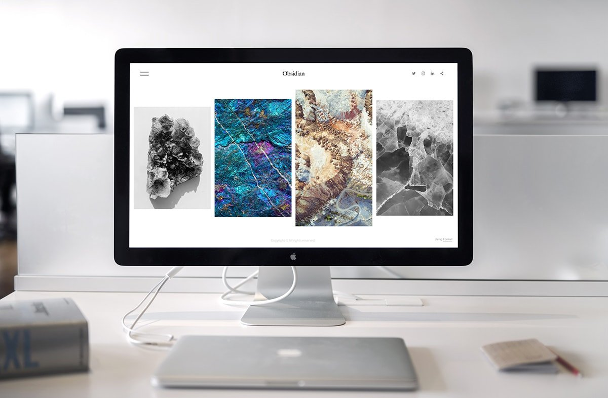 Computer with Website
