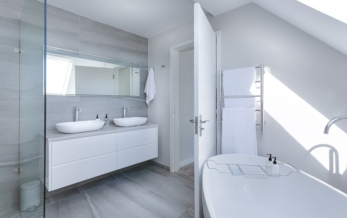 Beautiful renovated bathroom