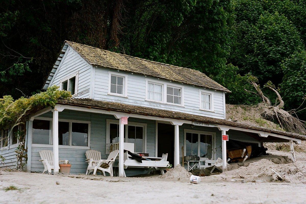 Vintage style beach house