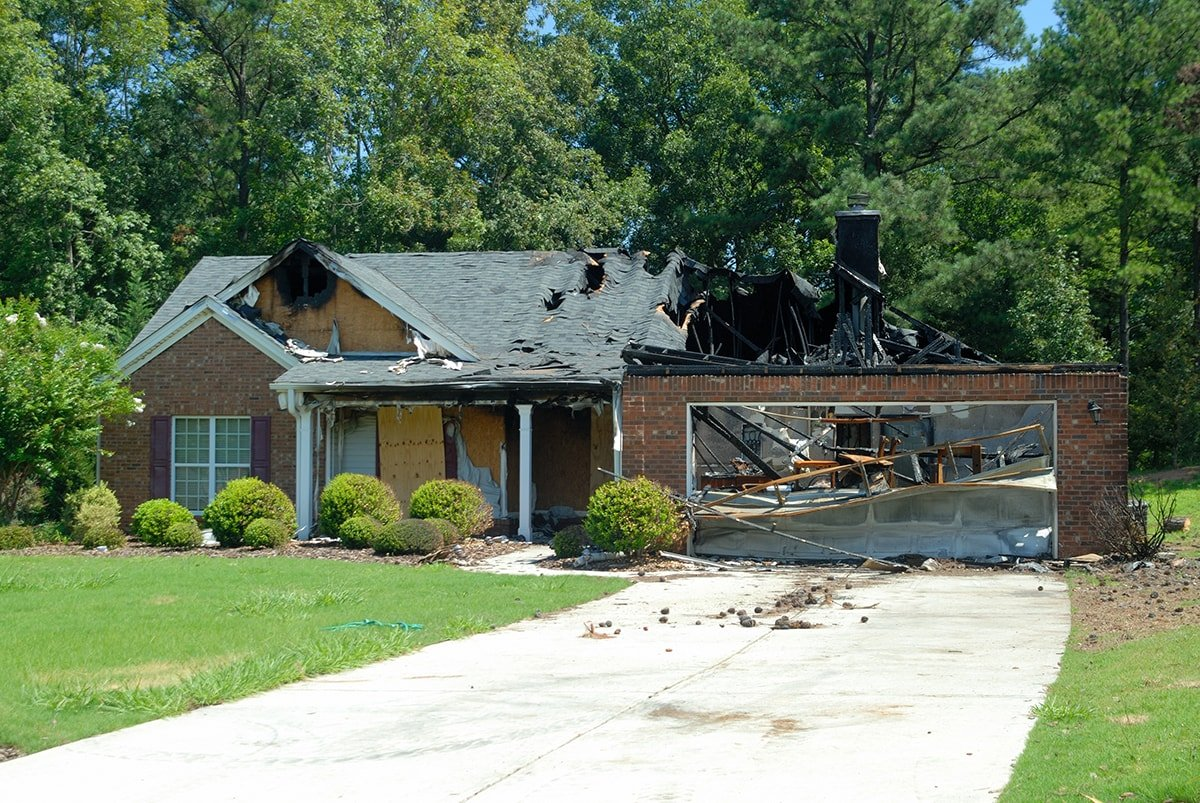 House destroyed by fire in need of assessment