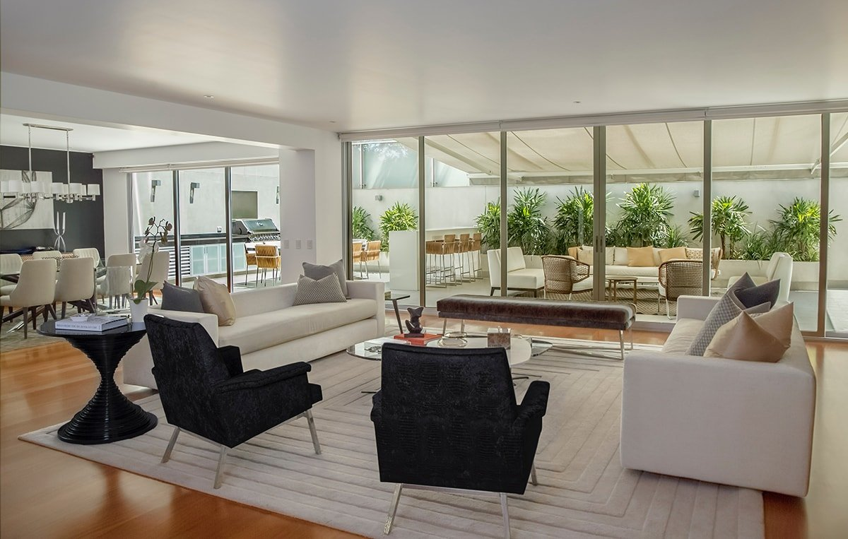 Focus on key rooms like the living room