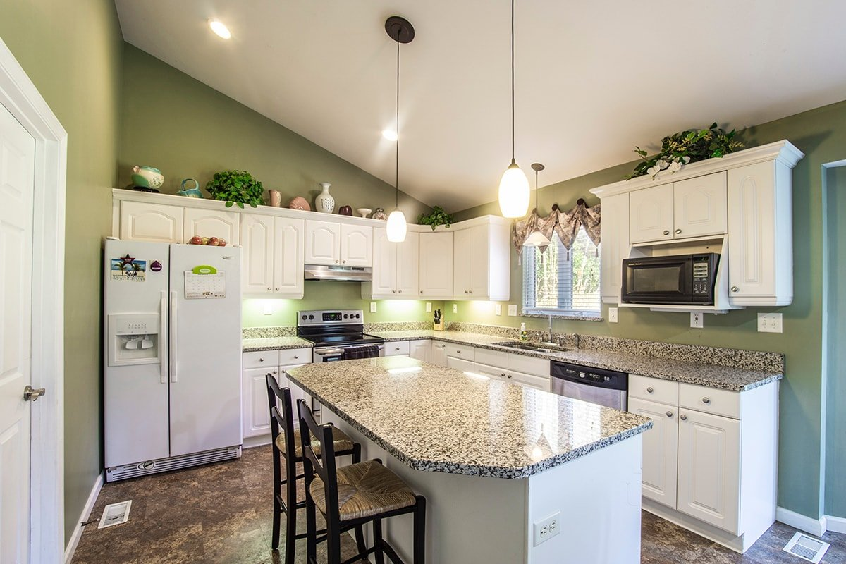 Kitchen with some inexpensive upgrades