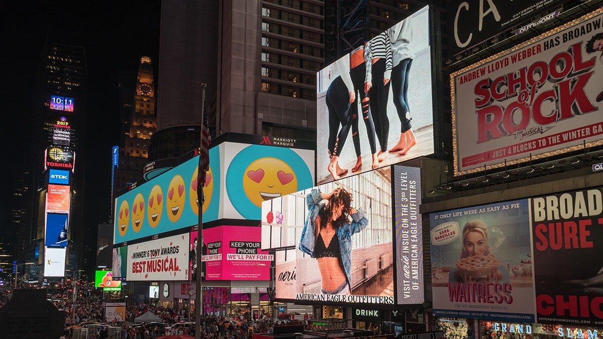 Marketing and advertising billboards