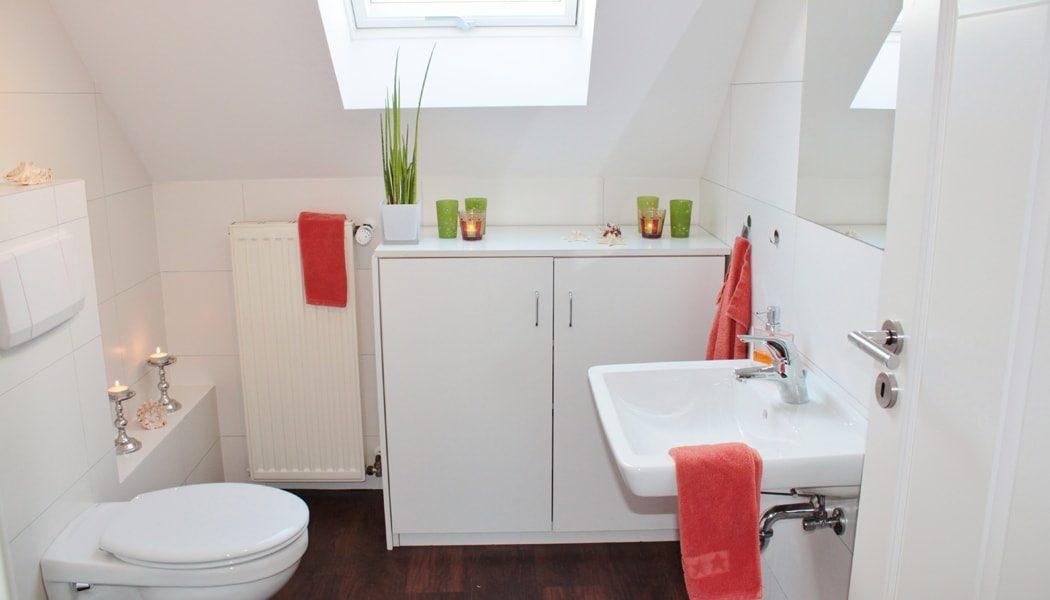 Bathroom free of mold