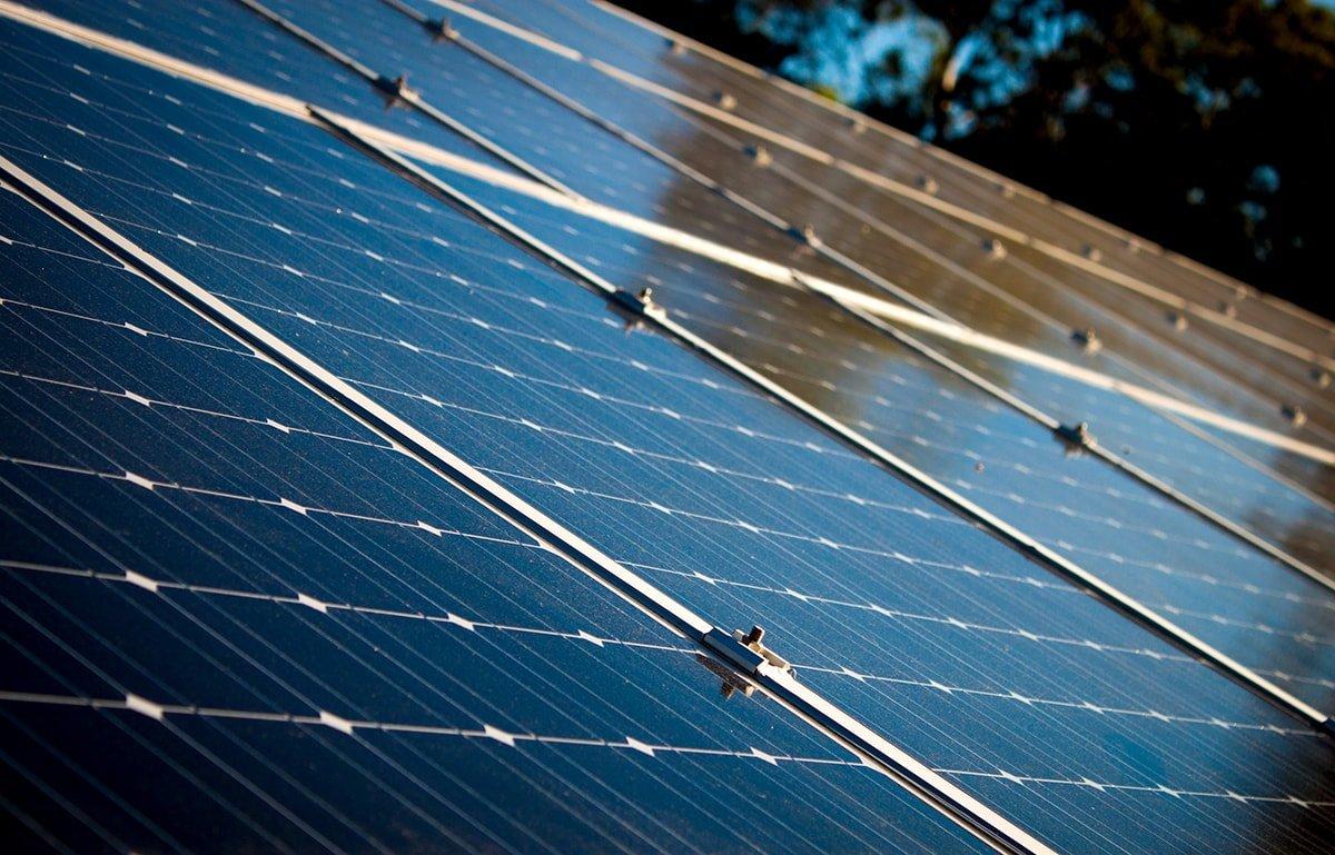 Solar panel details