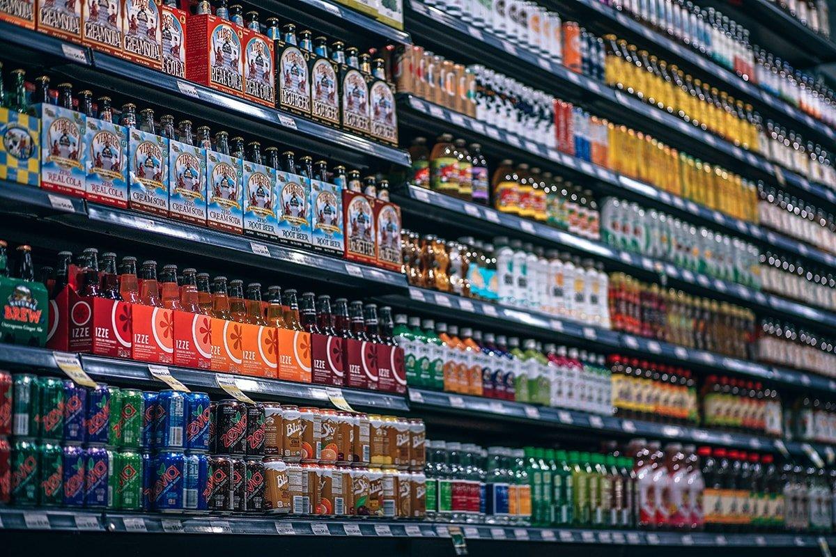 Store shelves