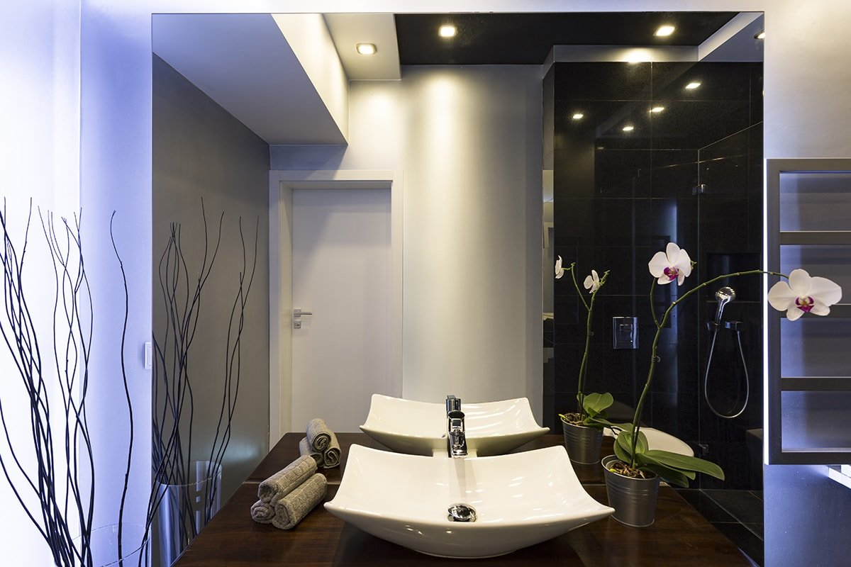 Beautiful bathroom design