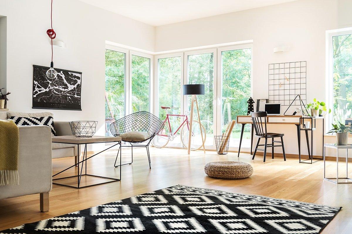 Big living room windows