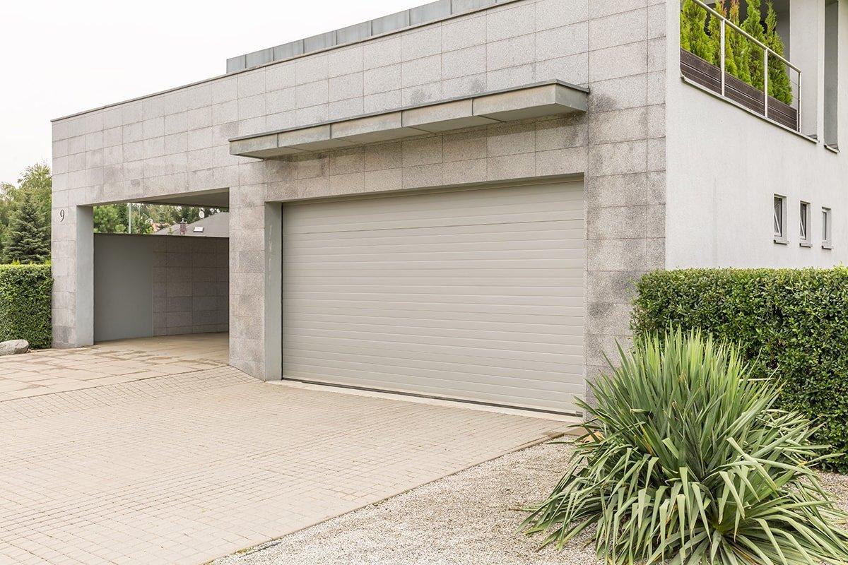 Garage door and curb appeal