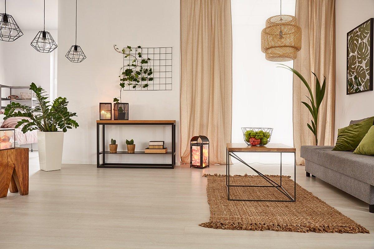 Open house living room