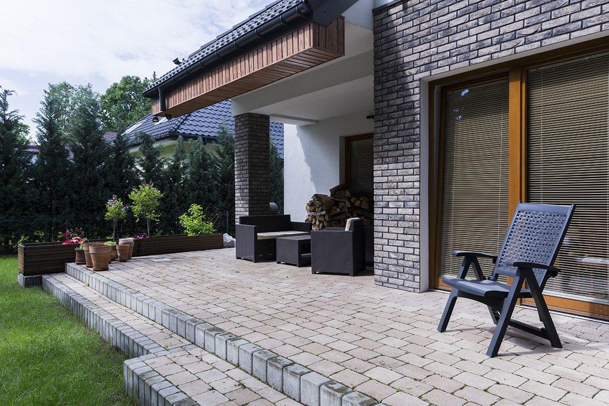 Beautiful outdoor patio